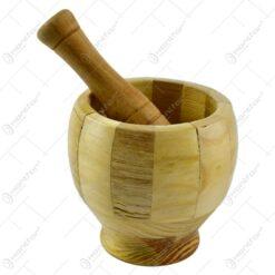 Mojar cu pistil realizat din bambus - Naturala