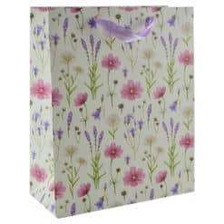 Punga pentru cadouri - Design cu flori (Model 7)
