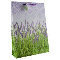 Punga pentru cadouri - Design cu lavanda (Model 6)