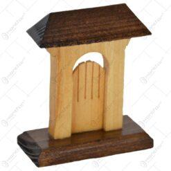 Poarta secuieasca realizata din lemn - Mic