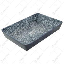 Tava realizata din aluminiu cu acoperire de granit (Model 2)