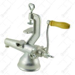 un material rezistent care garanteaza o durata indelungata de utilizare a aparatului. Masina este ideala pentru a pasa legume sau fructe