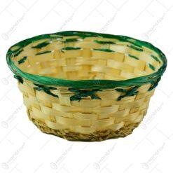 Cos realizat din bambus - Design Rustic - Diferite culori