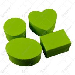 Set 4 cutii pentru cadouri - Verde