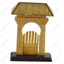 Poarta secuiasca mica realizata din lemn