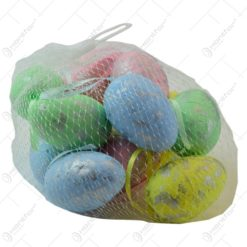 Set oua colorate pentru Pasti - Multicolor -