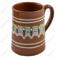 Halba de bere realizata din ceramica bulgareasca (Model 1)