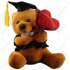 Ursulet realizat din plus - Design pentru absolvire - 2 modele (Model 2)