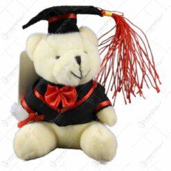 Ursulet realizat din plus - Design pentru absolvire - 2 modele (Model 4)