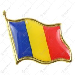 Insigna realizata din metal - Design Dracual/Romania