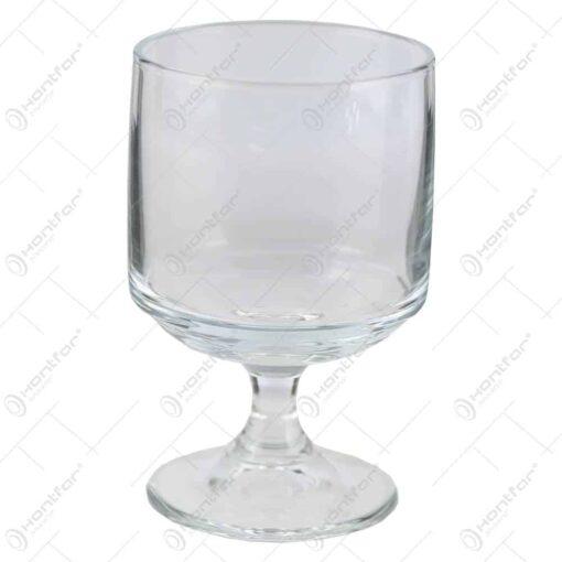Set 12 pahare realizate din sticla pentru vin