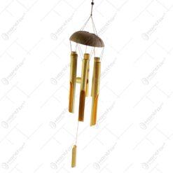 Clopotel de vant realizat din bambus (Model 4)
