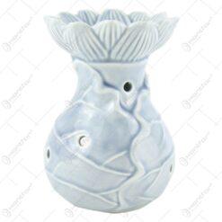 Candela aromaterapie realizata din ceramica - Diverse culori (Model 2)
