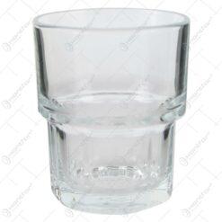 Set 12 pahare realizate din sticla pentru bauturi