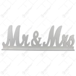 Decoratiune realizata din lemn - Mr&Mrs