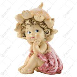 Figurina Zana florilor din rasina 11 CM