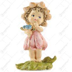 Figurina Zana florilor cu flori de nu-mă-uita 11CM