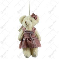 Ursulet din plus cu papion/rochita (Model 2)