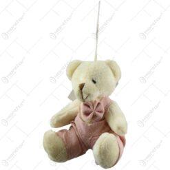 Ursulet din plus cu papion/rochita (Model 3)