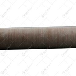 Hartie pentru ambalat - Design elegant - Caramiziu-Alb