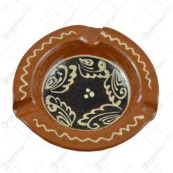 Scrumiera traditionala realizata din ceramica 10CM