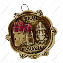 Plachet ipsos decorat cu Dracula