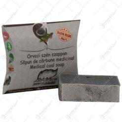 Sapun handmade de carbune medicinal - 70 gr