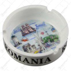 Scrumiera realizata din ceramica - Design Romania - Diverse modele (Model 3)