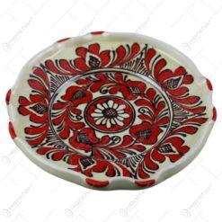 Farfurie traditionala din ceramica de Corund 16 CM