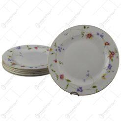 Set 6 farfurii elegante din ceramica 20 CM