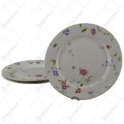 Set 3 farfurii elegante din ceramica 26 CM