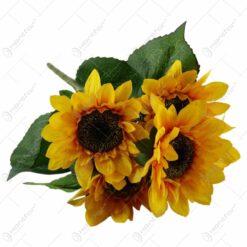 Buchet artificial de floarea-soarelui