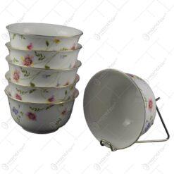 Set 6 boluri elegante pentru servire din ceramica 11 CM