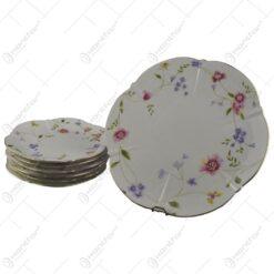 Set 7 farfurii elegante din ceramica