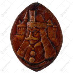 Placheta in relief din ceramica - Vlad Tepes/Romania