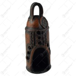 Felinar cu suport din ceramica 21x8 CM