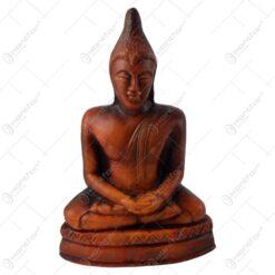 Statueta Buddha meditand din ceramica 27 CM