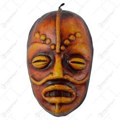 Masca tribala decorativa din ceramica 27 CM