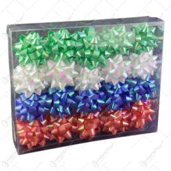 Set fundite sidefate pentru cadouri 40 buc - pastel