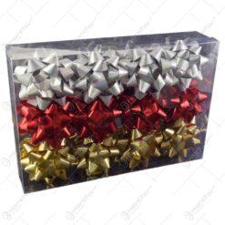 Set fundite decorative pentru cadouri 24 buc