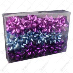 Set fundite decorative pentru cadouri 24 buc Nuante de violet