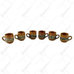 Cana traditionala din ceramica de Corund 5 CM