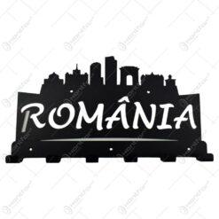 Suport pentru chei din metal Romania 42x22 CM