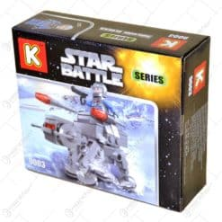 Jucarie constructiva realizata din material plastic - Star Battle - 3 modele
