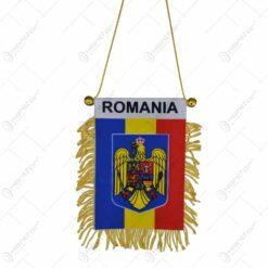 Set 12 steaguri cu franjuri - Romania