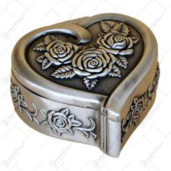 Caseta pentru bijuterii - Elegant Metal - 2 modele (Model 1)