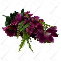 Buchet artificial de orhidee 48 CM