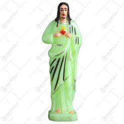 Statueta realizata din material plastic fosforescent - Isus