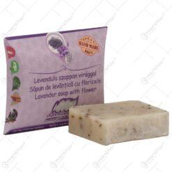 Sapun handmade cu plante medicinale - Levantica cu foricele - 70 gr