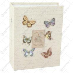 """Album foto """"Sweet Memories"""" design floral si fluturi"""